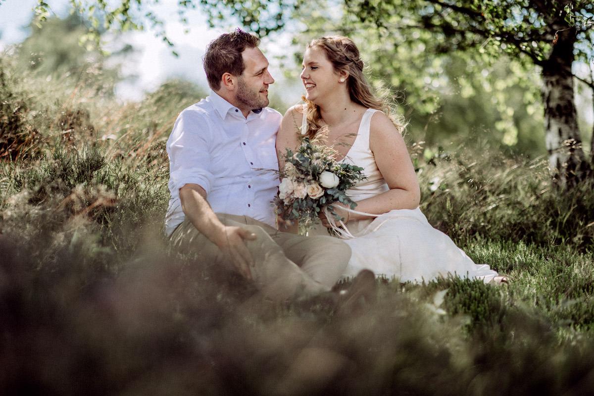 Hochzeitsfotos im Sommer in Vechta Hochzeitsfotograf Lichtbildlars Vechta